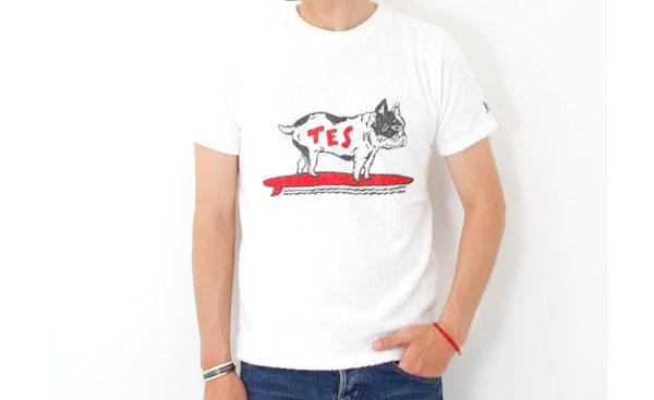TESロゴTシャツ