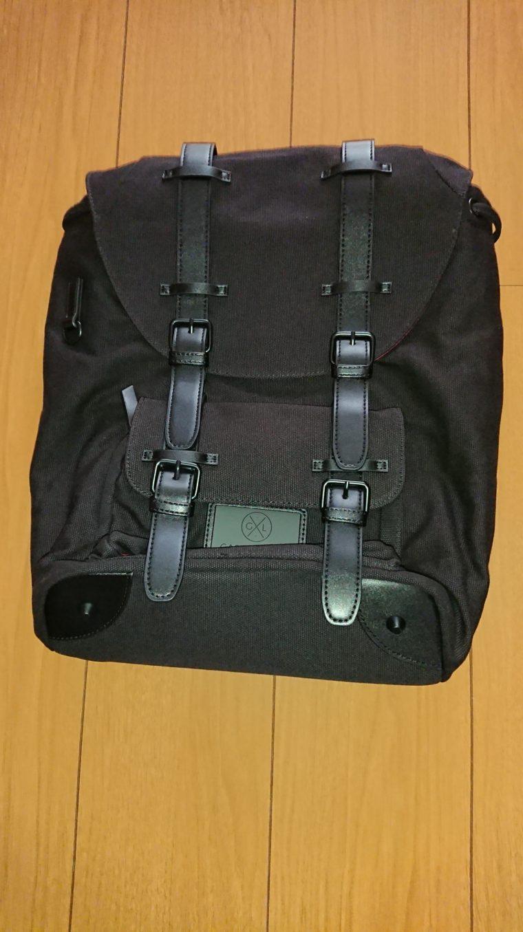【ガストンルーガクラシックレビュー】男女ユニセックスでコーデできるバッグパック(リュック)