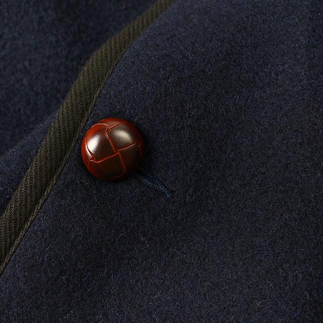 DANTONダントンウールモッサ素材クルミボタン
