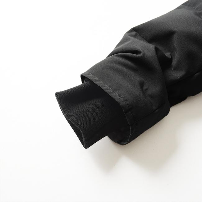 DANTONダントンファーダウン袖口には手首にフィットするリブニットカフ付き