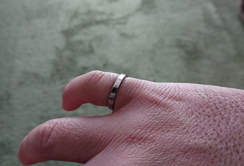 ダニエルウェリントンClassic Ring (クラシックリング)着用画像