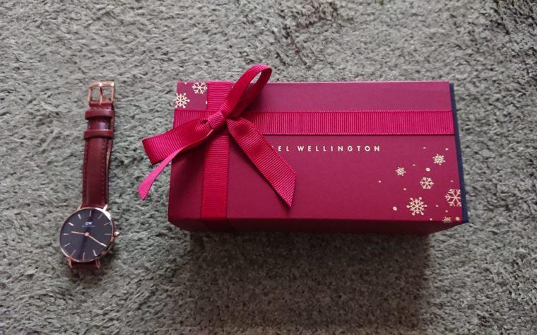 ダニエルウェリントン時計のクリスマスラッピング