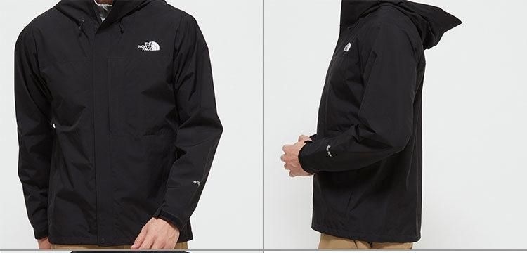ノースフェイスクラウドジャケットややゆとりのあるシルエットで重ね着がしやすく、シーズンを問わず活用