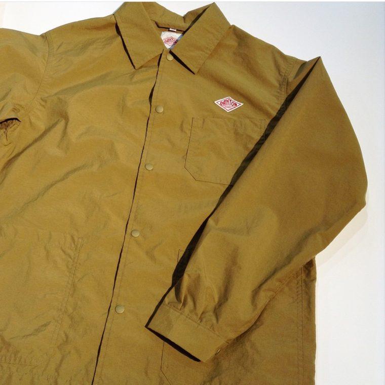 ダントンナイロンタフタジャケットが春先に軽く羽織れるワークアウターな理由