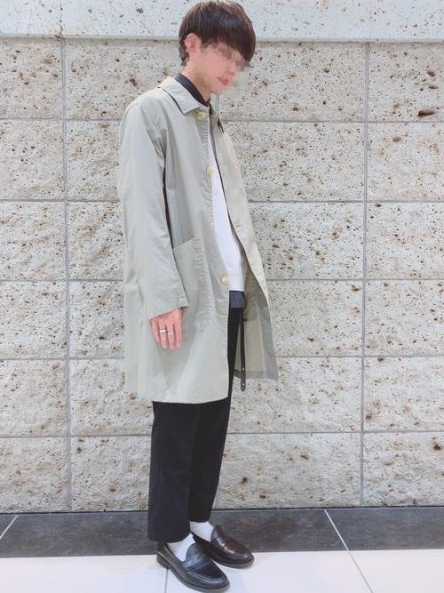 ダントンナイロンタフタコートはナイロン素材でもオシャレにきれいめにコーデできる1枚