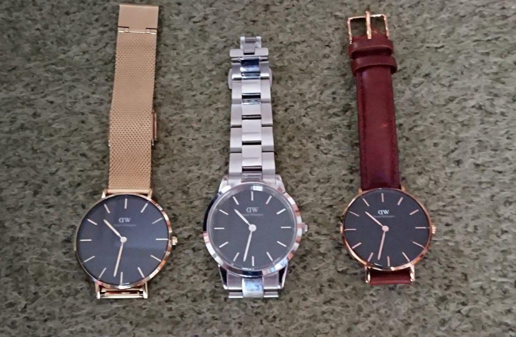 ダニエルウェリントン腕時計3個