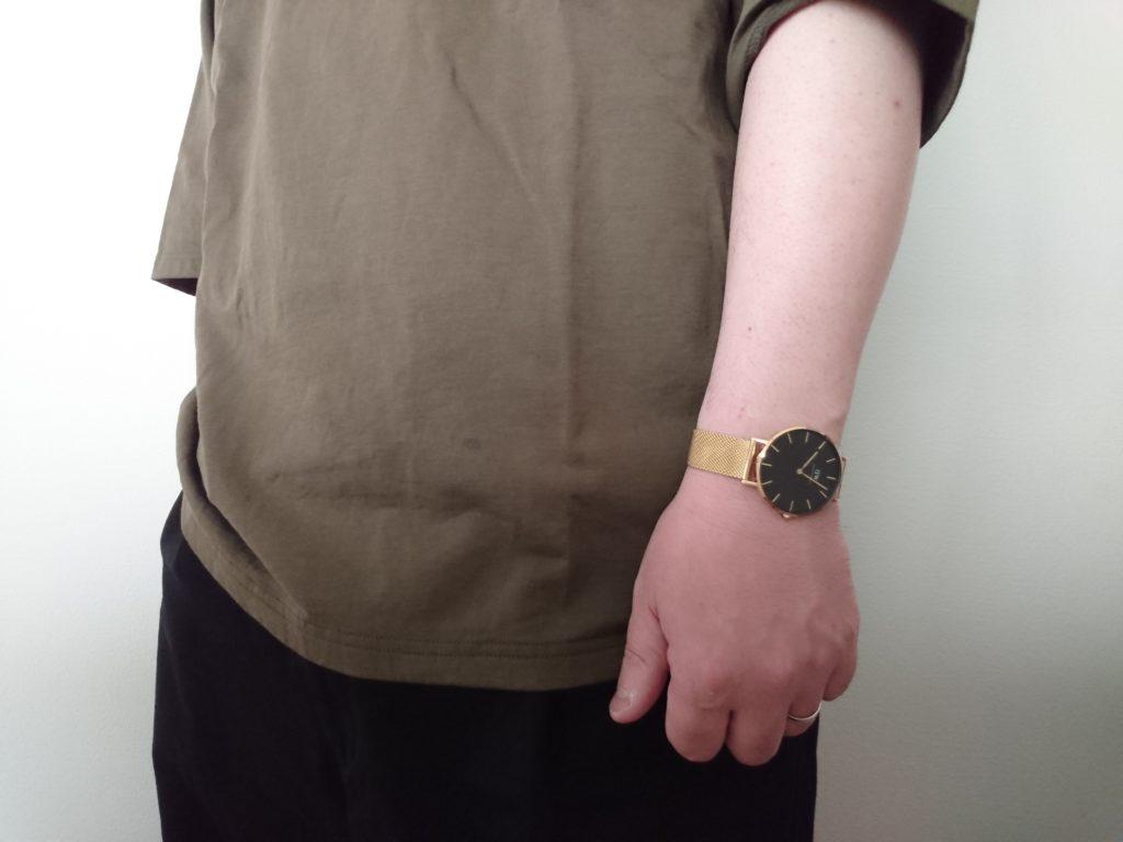 ダニエルウェリントン腕時計、新作PETITE EVERGOLD