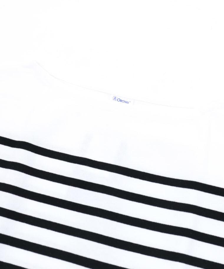 ORCIVAL(オーシバル)ラッセルボーダーTシャツ素材2