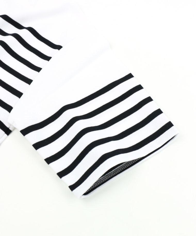ORCIVAL(オーシバル)ラッセルボーダーTシャツ素材3