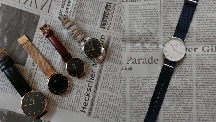 ダニエルウェリントン腕時計おすすめ5選!