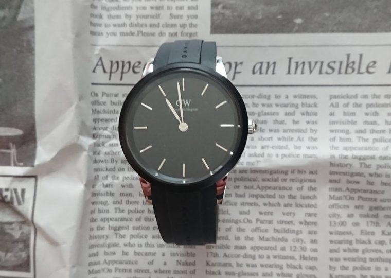 ダニエルウェリントンの時計Iconic Motion