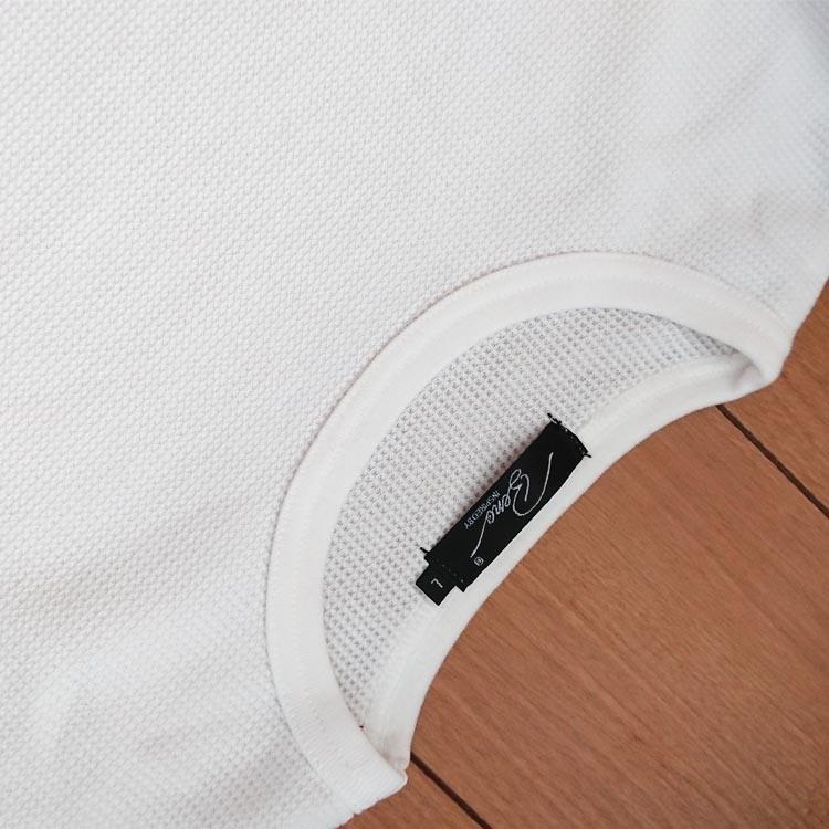メンズファッションプラスTCワッフルトールロンT3