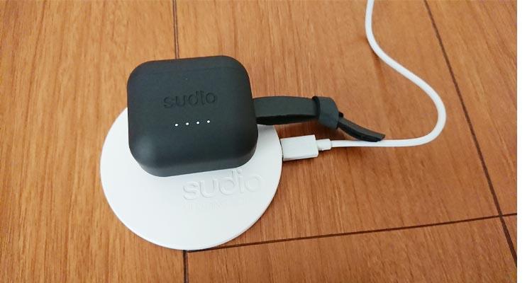 Sudio Ett充電 ワイヤレス充電にも対応